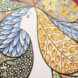 気軽に塗れる『Fairy Shampoo Adult Coloring Book』とKUM24色鉛筆の簡単レビュー