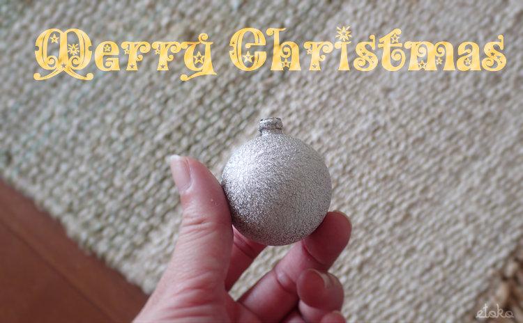 金具の取れてしまったクリスマスオーナメント