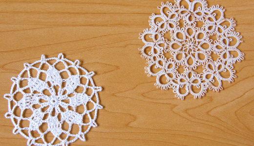 タティングとかぎ針編み