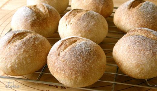 冷蔵発酵で作るパンと覚えておきたいこね上げ温度の計算方法
