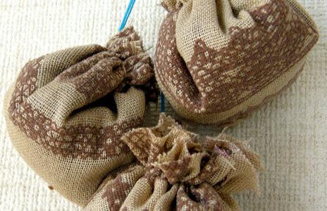 コーヒー粉の豆袋