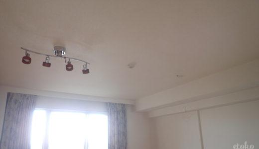 本当にいる?照明を外して天井を広く使う