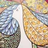 気軽に塗れる『Fairy Shampoo Adult Coloring Book』とKUMの色鉛筆
